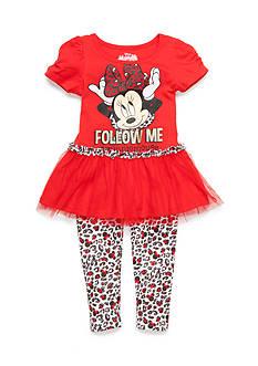 Disney 2-Piece Minnie Mouse 'Follow Me' Set Girls 4-6x