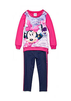 Disney Minnie Sweatshirt 2-Piece Set Girls 4-6x