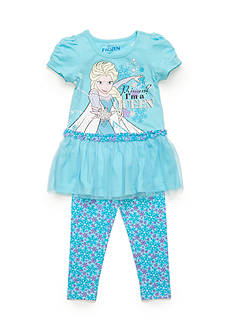 Disney 2-Piece Frozen Tunic and Printed Legging Set Girls 4-6x