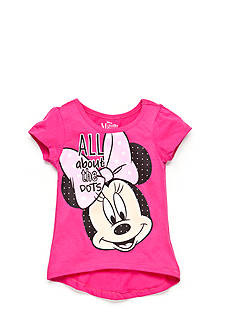 Disney Minnie Mouse Dots High Low Top Girls 4-6x
