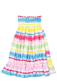 One Step Up Multi Stripe Skirt As A Dress Girls 7-16
