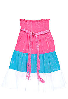 One Step Up Colorblock Skirt As A Dress Girls 7-16