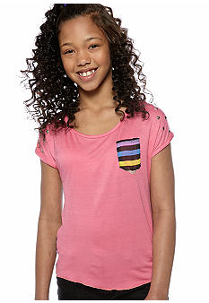 One Step Up Stud Tee Girls 7-16