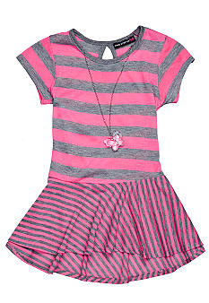 One Step Up Stripe Top Girls 7-16