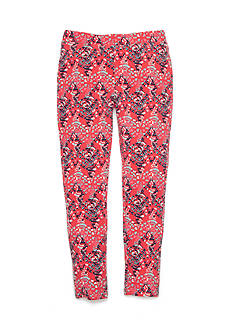 One Step Up Printed Jegging Pant Girls 7-16
