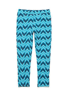 One Step Up Chevron Printed Jeggings Girls 7-16