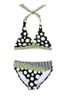 Breaking Waves Dot Remix Bikini Girl 7-16
