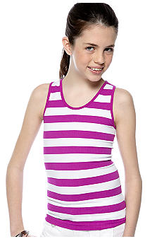 Energie Stripe Seamless Tank Girls 7-16