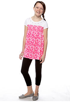 Energie Floral Tunic and Legging Set Girls 7-16