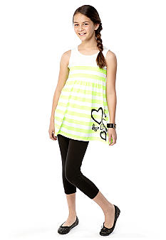 Grane Stripe Smock Tank Set Girls 7-16