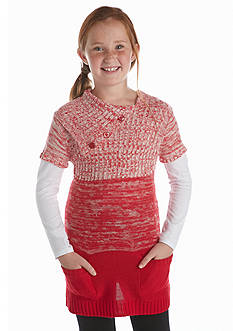Energie Colorblock Tunic Sweater Girls 7-16