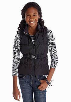 Energie Zebra Puffer Vest Set Girls 7-16