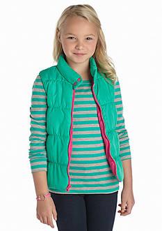 Energie Stripe Puffer Vest Set Girls 7-16