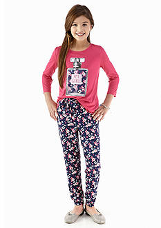 Energie 2-Piece Perfume Tee and Soft Pant Set Girls 7-16