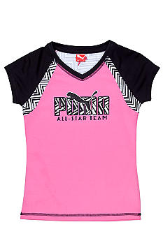 Puma All Star Team Colorblock Tee Girls 7-16