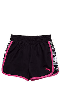 Puma Printed Microfiber Shorts Girls 7-16