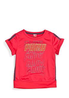 Puma Short Sleeve French Terry Sweatshirt Girls 7-16