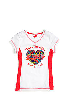 Puma Athletic Dept Tee Girls 7-16