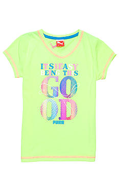 Puma This Good Puma Tee Girls 4-6x