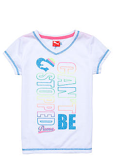 Puma Can't Be Stopped Tee Girls 4-6x
