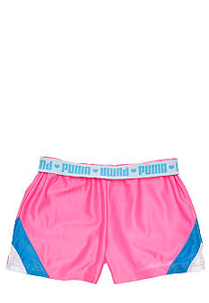 Puma Foldover Dazzle Short Girls 4-6x