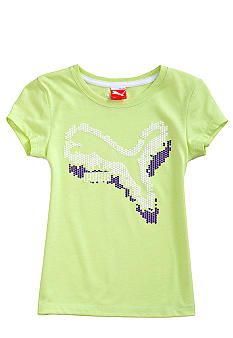 Puma Fast Cat Core Tee Girls 4-6X
