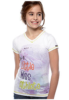 Puma Little Miss V-Neck Tee Girls 7-16