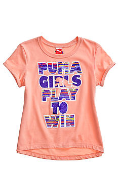 Puma Play To Win Tee Girls 4-6X