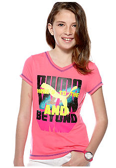 Puma Ready To Shine Tee Girls 7-16