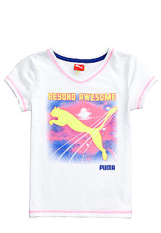 Puma Puma Awesome Tee Girls 4-6X