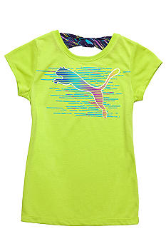 Puma Puma Cat Tee with Back Bow Girls 4-6X