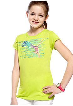 Puma Puma Cat Tee with Back Bow Girls 7-16