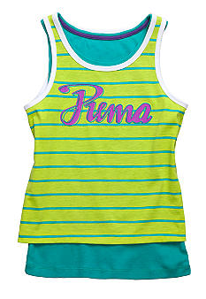 Puma Puma Double Tank Girls 4-6X