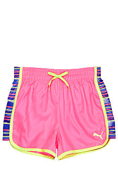 Puma Print Microfiber Short Girls 7-16