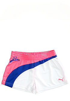 Puma Form Stripe Mesh Short Girls 4-6X