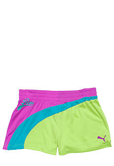 Puma Form Stripe Mesh Short Girls 7-16