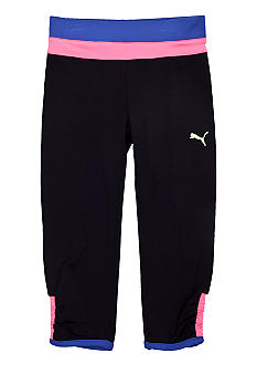 Puma Colorblock Cinched Capri Girls 7-16