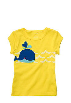 Carter's Whale Tee Girls 4-6X