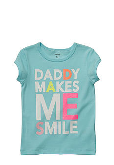 Carter's Daddy Makes Me Smile Tee Girls 4-6X