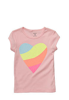 Carter's Heart Tee Girls 4-6X