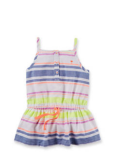Carter's Multi Stripe Tank Top Girls 4-6x