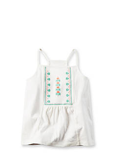 Carter's Embroidered Tank Top Girls 4-6x
