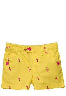 Carter's Flamingo Shorts Girls 4-6X