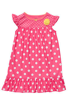 Carter's Polka Dot Night Gown Girls 4-14