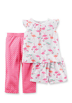 Carter's 3-Piece Flamingo Pajama Set Girls 7-16