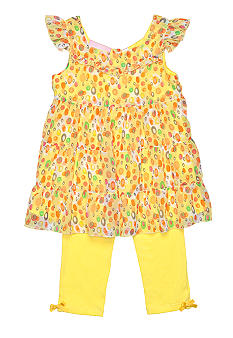 Kids Headquarters Voile Floral Set Girls 4-6X