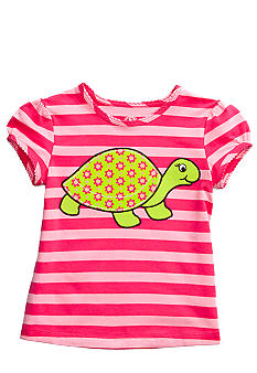 J Khaki Turtle Tee Girls 4-6X