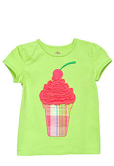 J Khaki Ice Cream Cone Tee Girls 4-6X