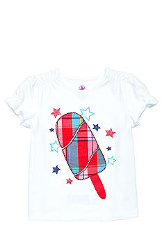 J Khaki Popsicle Print Tee Girls 4-6X