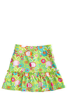 J Khaki Bee Print Scooter Girls 4-6X